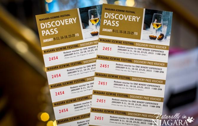 Niagara Icewine Festival Discovery Passes